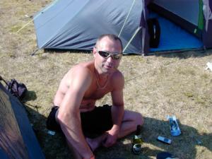 Sol og dejligt koldt øl Aaaah
